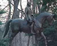 Statue / monument of George Washington in Washington DC by Sculptor Herbert Haseltine