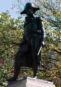 Statue / monument of Tadeusz Kosciuszko in Washington DC by Sculptor Antoni Popiel