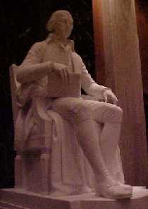 Statue / monument of James Madison in Washington DC by Sculptor Walter K. Hancock